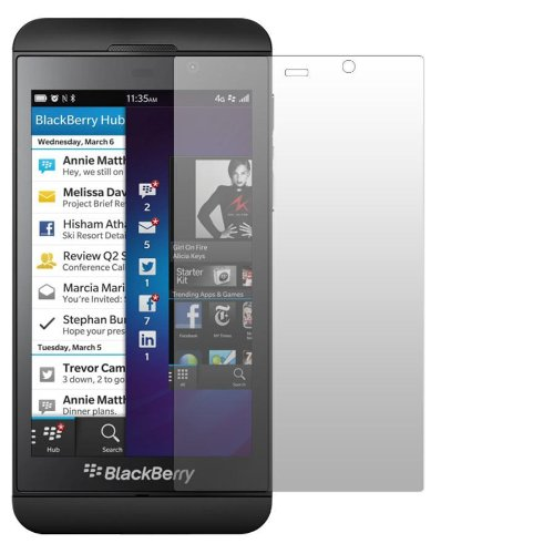 2 x Slabo Bildschirmschutzfolie BlackBerry Z10 Bildschirmschutz Schutzfolie Folie