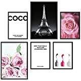 Bold Design Poster Set Coco - 2 x DIN A3 & 4 x DIN A4 -
