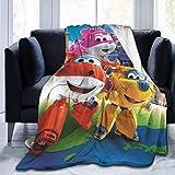 Yuantaicuifeng Mantas para Cama Sobrecama Super Wings 1 Novelty Blanket Fleece Throw Blanket Super Soft Lightweight for Adults
