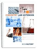 BookFactory Carbonless Chemistry Lab Notebook - 50...