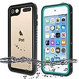 BESINPO Waterproof Case Compatible with iPod Touch 7 Case, iPod Touch 6 Touch 5 Case, Full Body Built-in Screen Protector Shockproof Dustproof Anti-Scratch Case for iPod Touch 7th/6th/5th Generation