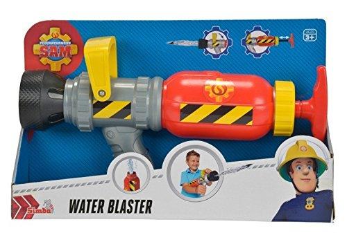 Sam el bombero - Pistola de Agua, Color Amarillo / Rojo / Az