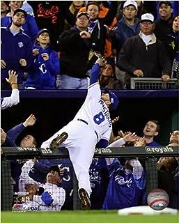Size: 8 x 10 MLB Lorenzo Cain Kansas City Royals 2015 Action Photo