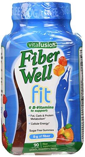 Vitafusion Fiber Well Weight Management Gummies, 180 gummies