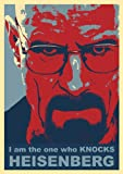 Great Art Red Blue Poster – Breaking Bad I am The one who