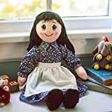 The Queen's Treasures Little House on The Prairie 18 Inch Rag Doll, Compaitble for use with 18 Inch American Girl Dolls