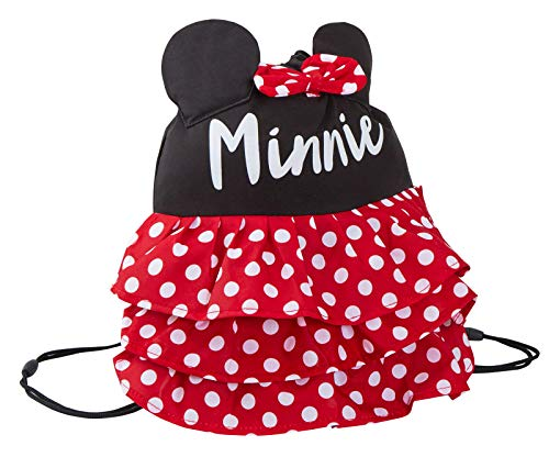 Girls 3D Novelty Minnie Mouse Drawstring Gym