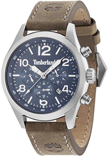 Timberland ashmont orologio Uomo Analogico Al quarzo con cinturino in Pelle di vitello 15249JS-03