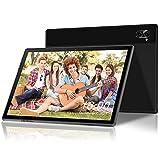 Tablet 10 Pulgadas 8-Core 1.5 GHz 6GB RAM 64GB ROM/512GB Android 10 Pro 5G WiFi Rápido Tablets, 6000mAh |4G LTE Tablets Dual Cámara 5MP+8MP | Bluetooth | GPS | Google GMS, Teclado Bluetooth -Negro