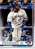 2019 Topps Factory Set Baseball #700 Vladimir Guerrero Jr. Rookie Card - Batting Variation. rookie card picture