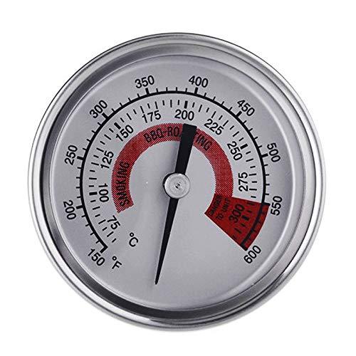 nlgzklsh Verstelbare Bimetaal Thermometer 150-600F met Kalibratie Wijzerplaat