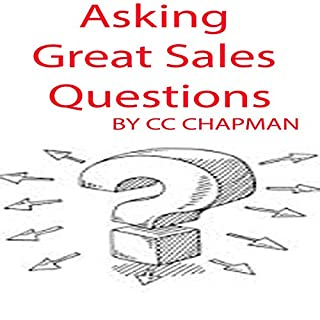 Asking Great Sales Questions audiobook cover art