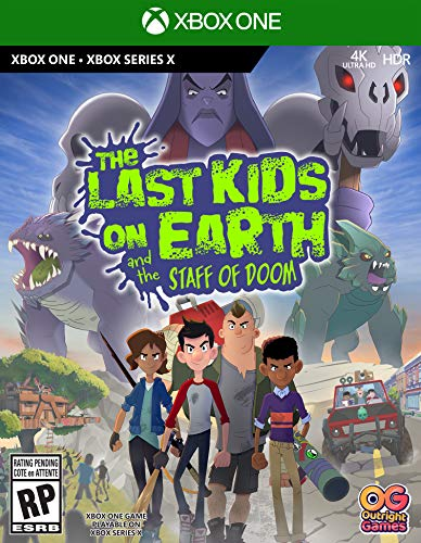 The Last Kids On Earth and the Staff of Doom - Xbox One