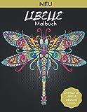 Libelle Malbuch: Ein Malbuch für Erwachsene Magische Libellen und wunderschöne Blumen- und Naturmuster zum Entspannen und Zeichnen,Hochwertige Bilder.