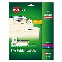 AVE5266 - Avery ファイリングラベル