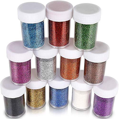 Extra fine Glitter Shakers in Shaker Jars