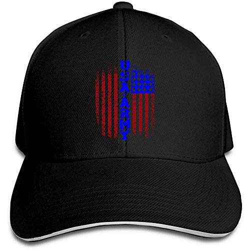 Dale Hill Unisex Baseball Cap Veteran amerikanischer Soldat Cotton Trucker Hat Verstellbare Casual Sports Fan Caps Schwarz
