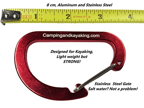 Campingandkayaking Made in The USA! NO Hook & Loop to Fail! Paddle Leash with a 2 Rod Leash Set, 3 Black Leashes Total… 4 3 black gear leashes included, 1 for the paddle, 2 additional leashes for rods or other light gear. If a super long leash is needed, they simply loop together, (See the picture of the loops) Fixed elongation, Will not over stretch and loose elasticity. Woven construction and long bar-tack sewn, Built to last. 20 inches of elongation keeps it out of the way but gives you the reach you need when paddling or reeling in the big one.