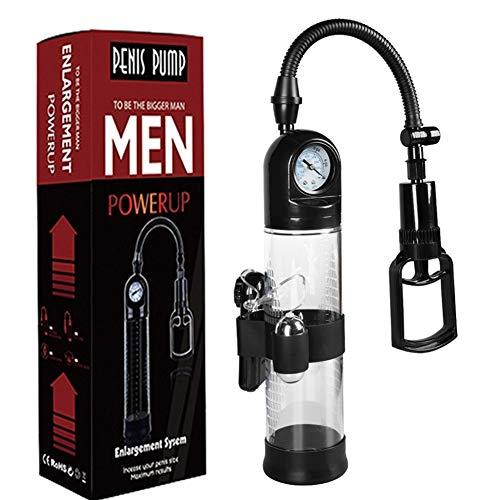Manual Pressure Controll Pens Pump for Men,ênlargement Êxtender Pênnīs Length Safe Vacuum Pressure Tools
