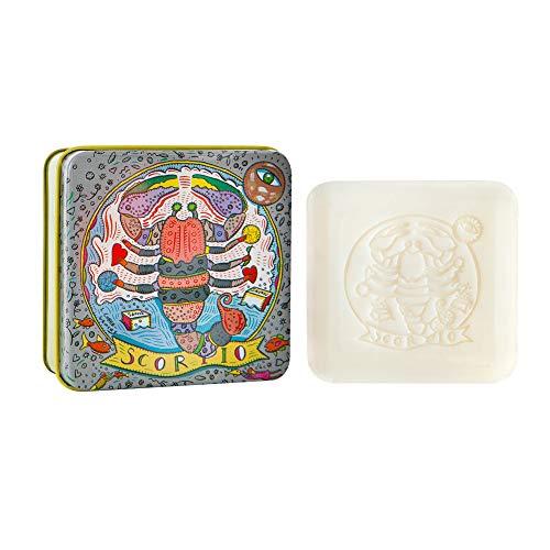 European Soaps Scorpio Zodiac Soap in Tin, 3.52 Ounce