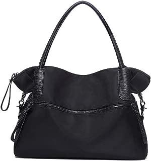 YQueen Women Tote Shoulder Bag Nylon Fashion Travel Handbags Satchel Purse
