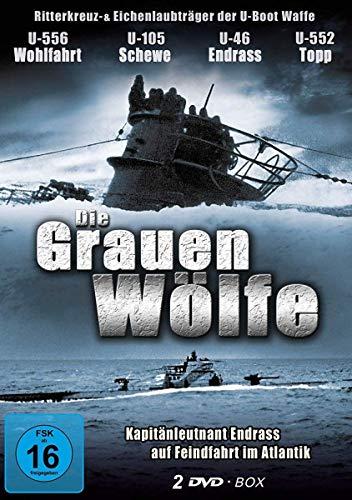 Graue Wölfe - Deutsche U-Boote im 2. Weltkrieg - Das Boot - Die Grauen Wölfe (2 DVD Schuber)