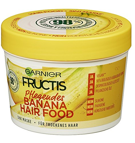 Garnier Fructis Pflegendes Banana Hair Food Kur 390ml