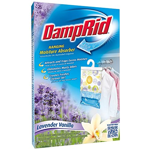 Read About DampRid Hanging Lavender Vanilla Moisture Absorber, 14 oz.