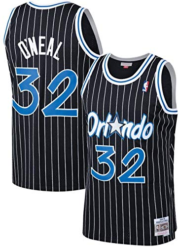 Mitchell & Ness Shaquille O'Neal Orlando Magic Big and Tall Replica Jersey (XLT)