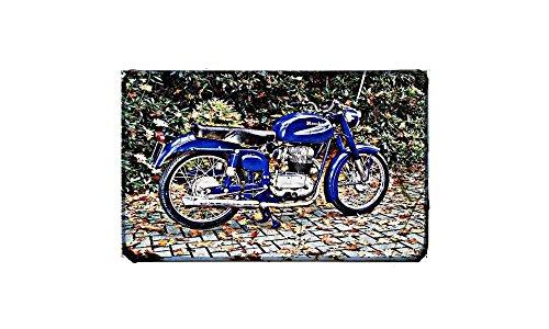 Bianchi Tonale 175 Sport motorfiets A4 foto print poster retro fiets