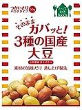 トーヨーフーズ そのままガバッと! 3種の国産大豆(パウチ)×10個
