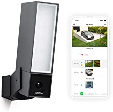 Smart Outdoor Security Camera with Integrated floodlight - Netatmo Presence