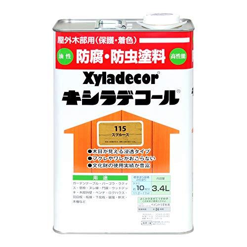 大阪ガスケミカル株式会社 キシラデコール スプルース 3.4L