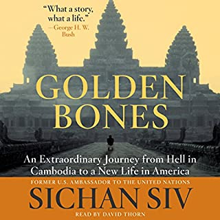 Golden Bones audiobook cover art