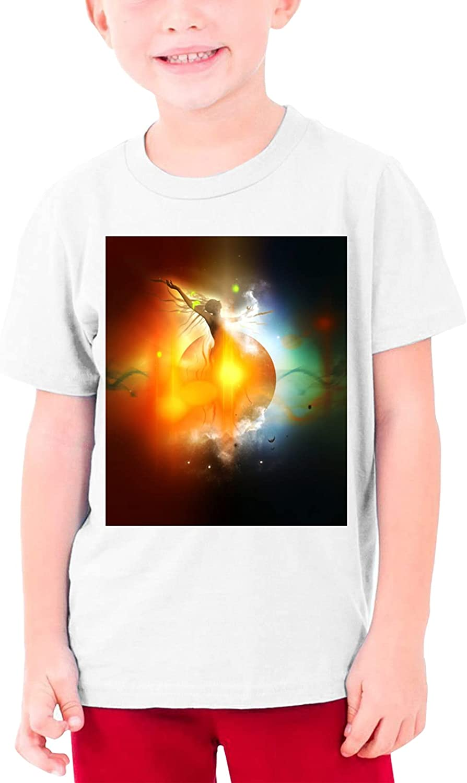 Dream Angel 100% Cotton Tshirts Cartoon Shirt Girls Boy Casual Tee Shirt Short Sleeve Top Teenage Graphic T Shirt