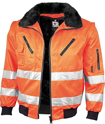 Gonschorek Gonschorek Qualitex Warnschutz Pilotenjacke gelb oder orange (L, warnorange)