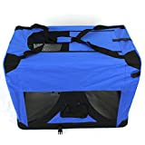 Pet Travel Carrier Soft Crate Portable Puppy Dog Cat Kitten Cage Kennel Home