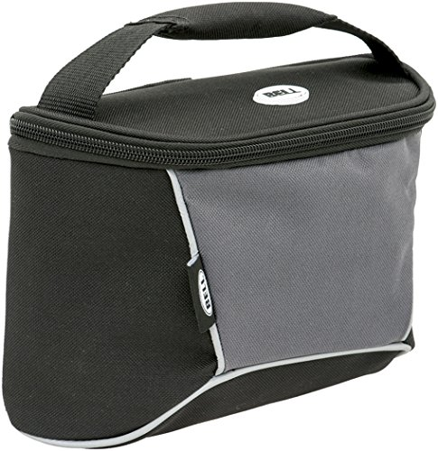 Bell Stowaway 450 Top Tube Frame Bag with Phone Storage - Black/Silver