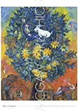 Autumn in the Village by Marc Chagall, Art Print Poster 32