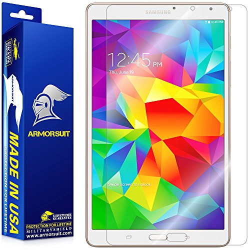 ArmorSuit MilitaryShield Screen Protector for Samsung Galaxy Tab S 8.4 - [Max Coverage] Anti-Bubble HD Clear Film