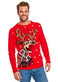 Rudolph rote Nase Christmas Sweater