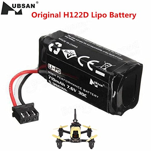 Original Hubsan H122D Battery RC Quadcopter Spare Parts 7.6V 710mAh 30C Battery H122D-16 Spare Parts