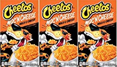 Your favorite snack is now a cheesy mac! Introducing Cheetos Mac 'n Cheese. Bold, creamy and full of Cheetos flavor A go-to for lunch, dinner and anytime in between The purrfect alternative to everyday mac and cheese