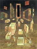 Nueva pintura por números para adultos, niños, cuadro abstracto Paul Klee, pintura digital de bricolaje por kits de números en lienzo
