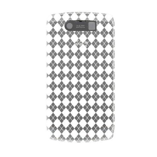 Katinkas weiche Checker Hülle für BlackBerry Storm 2 9520 klar
