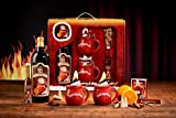 Feuerzangentasse Geschenkset, Klassisch, Rot - für Feuerzangenbowle