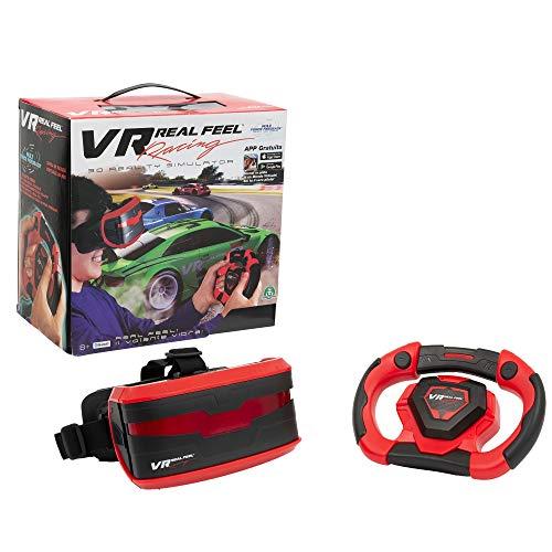 Giochi Preziosi- Playset Interattivo (Volante, Headset E Visore), Multicolore, VRR00000