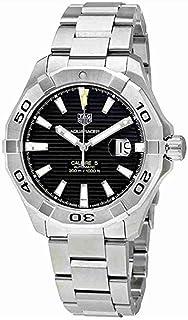 TAG Heuer - Reloj de Hombre automático Correa y Caja de Acero WAY2010.BA0927