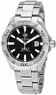 Men's Steel Bracelet & Case Automatic Black Dial Analog Watch WAY2010.BA0927