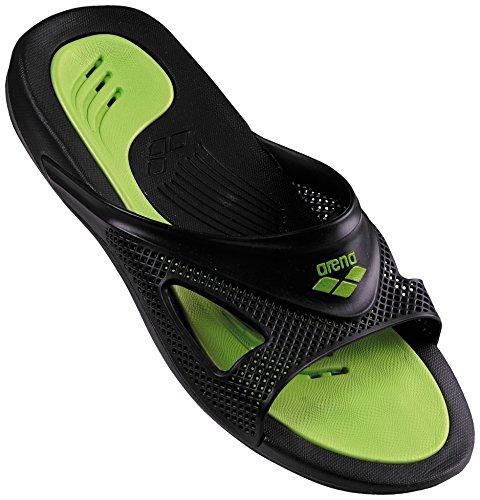 Arena Hydrofit Man Hook Zapatos de Playa y Piscina, Hombre, Negro Black 056, 43 EU